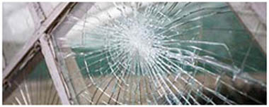 Lambeth North Smashed Glass